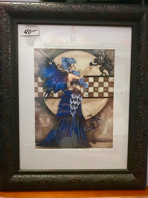 "Amy Brown Framed Print 11"" x 14"""