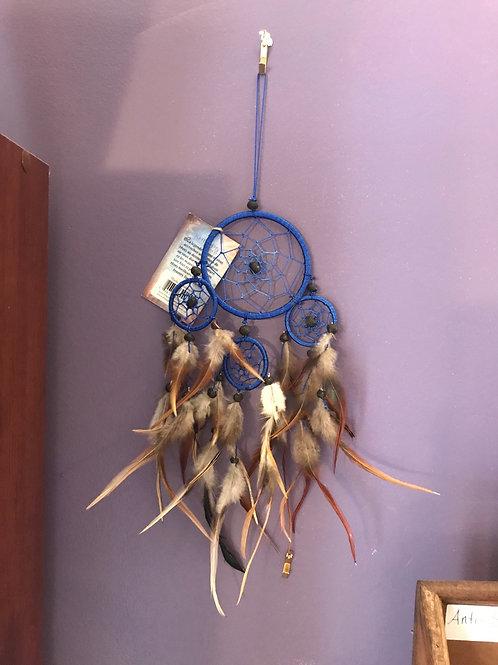 """Four Web Blue Dreamcatcher 8"""""""