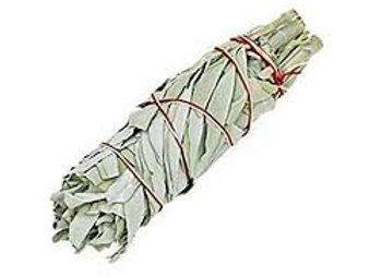 Sage Smudge Bundle (Med) 7""