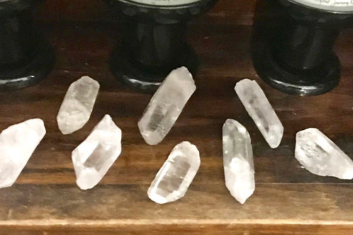 "Natural Quartz Points 3""-4"""