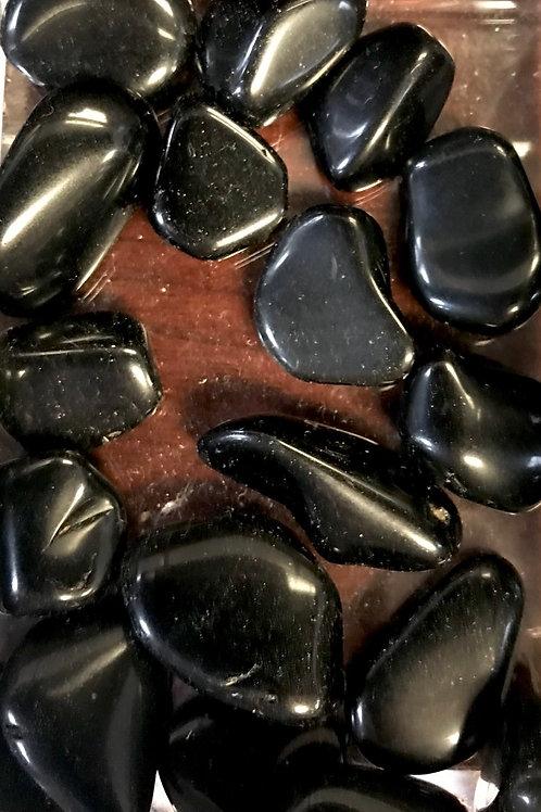 Obsidian Tumbled