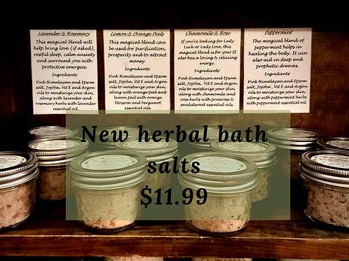Herbal Bath Salts