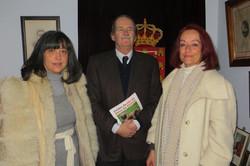 With HRH The Duke of Bragança