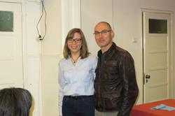 Iryna Brazhnik and Sérgio Azevedo