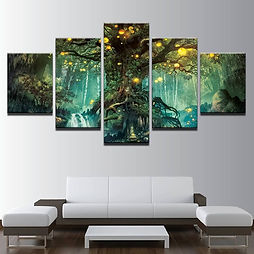 canvas wall art enchanted tree.jpg