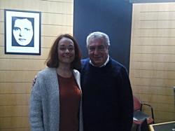 Radio journalist Fernando Correia