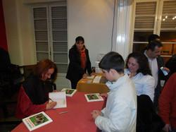 Book launch 1, Lisbon