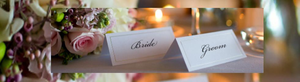 wedding seating card
