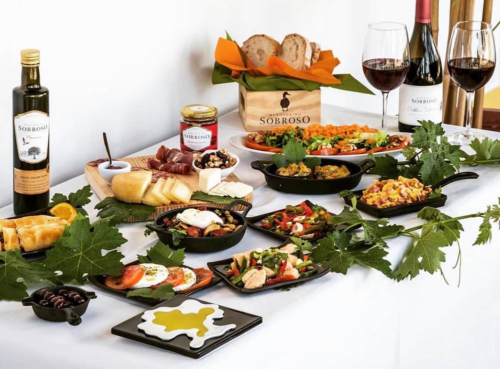 Alentejo Portugal food & wine - Herdade do Sobroso