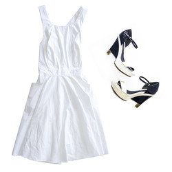 Prada dress chanel shoes.jpg