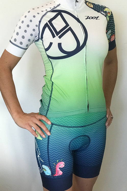 Ladies Little Monsters Cycling Kit (Jersey+Cycle Short)