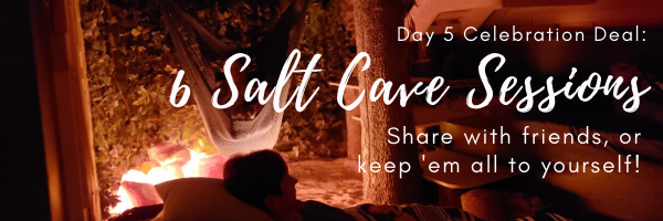 Salty Celebration: Day 5 - to the salt cave!