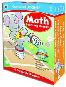 Math Learning Games - Gr. 1 (orange)