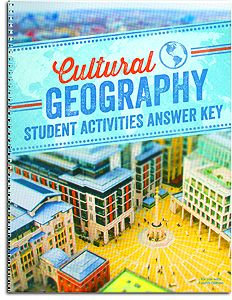 Cultural Geography Activity Manual Answer Key