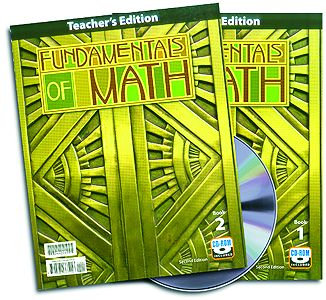 Fundamentals of Math - Home Teacher's Edition (with CD)