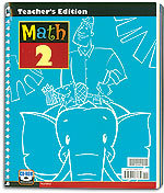 Math 2 - Home Teacher's Edition with CD