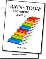 Ray's for Today Arithmetic Level 3 Curriculum Set