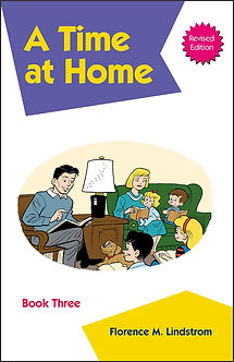 A Time at Home - Book Three Kindergarten Phonics Reader