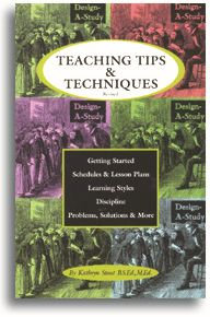 Teaching Tips & Techniques Book - Design-A-Study