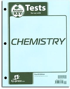 Chemistry Tests Answer Key