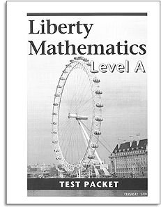 Liberty Mathematics - Level A - Tests