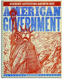 American Government - Activity Manual Teacher's Edition