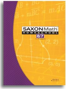 Math 87 - Homeschool Student Textbook