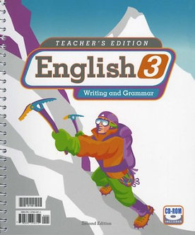 English 3 Teacher's Edition with CD