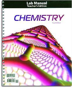 Chemistry Lab Manual Teacher's Edition
