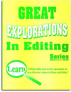 Great Explorations in Editing Series - Volume 1