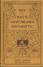 Key to Ray's New Higher Arithmetic - paperback