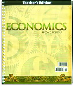 Economics - Home Teacher's Edition