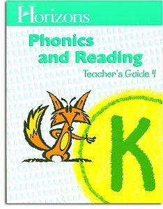Horizons K Phonics and Reading -Teacher Handbook 4
