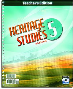 Heritage Studies 5 - Home Teacher's Edition (with CD)