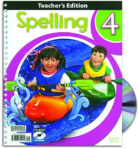 Spelling 4 Home Teacher's Edition with CD
