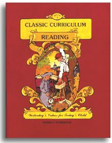Classic Curriculum Reading Workbook - Series 1 - Book 1