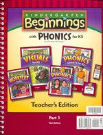 Beginnings - Phonics for K5 Home Teacher's Edition Set
