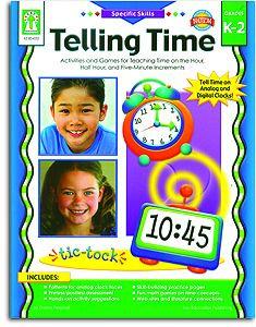 Telling Time - Gr. K-2