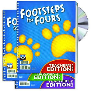 K4 Footsteps Home Teacher's Edition Set (Book & CD)