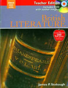 British Literature - Teacher's Edition