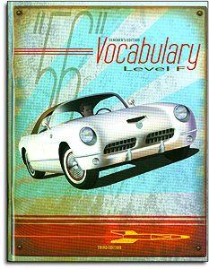 Vocabulary - Level F - Teacher's Edition