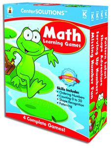 Math Learning Games - Gr. K (red)