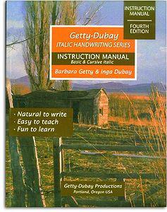 Italic Handwriting Series - Instruction Manual