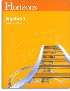 Horizons Algebra - Tests and Resources (Mathematics 8)