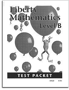 Liberty Mathematics - Level B - Tests