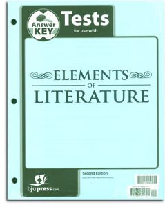 Elements of Literature - Tests Answer Key