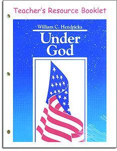 Under God Teacher's Resource Booklet