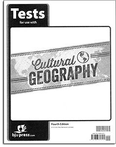 Cultural Geography Tests