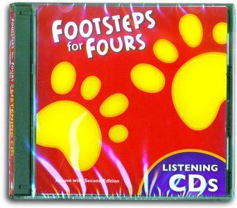 K4 Footsteps Audio CD