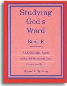 Studying God's Word - Book E